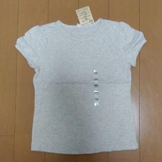 ムジルシリョウヒン(MUJI (無印良品))の無印良品 毎日のこども服☆パフスリーブ半袖Tシャツ120(Tシャツ/カットソー)