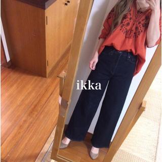 イッカ(ikka)のikka✨刺繍ブラウス(シャツ/ブラウス(長袖/七分))