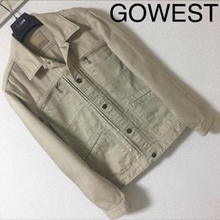 ◆レア◆GOWEST ゴーウエスト◆サテン チノ ジャケット ジージャン 2 M