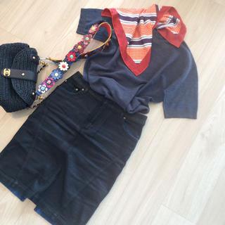 ルイヴィトン(LOUIS VUITTON)のヴィトン❤︎新品同様スカーフ付きニット(ニット/セーター)