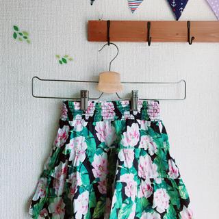 ジーユー(GU)のGU 110 花柄スカート(スカート)