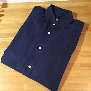 ルイジボレッリ(LUIGI BORRELLI)のはちみつジョン 様専用 グレーのシャツとセット(シャツ)