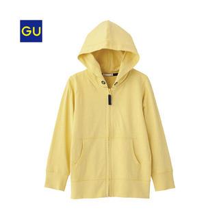 ジーユー(GU)の【美品】GU/ジーユー キッズ UVカットフルジップパーカ(長袖) サイズ110(ジャケット/上着)