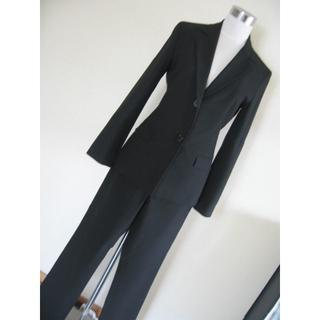 ナチュラルビューティーベーシック(NATURAL BEAUTY BASIC)のナチュラルビューティ パンツスーツ 黒 S・M(スーツ)