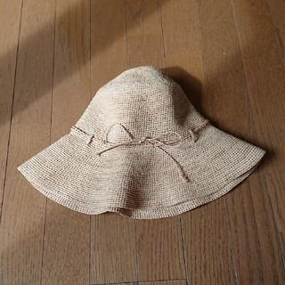 ムジルシリョウヒン(MUJI (無印良品))の無印良品 たためるキャペリン(麦わら帽子/ストローハット)