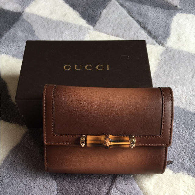 18e2fea8e53a Gucci(グッチ)のGUCCI バンブー 財布 レディースのファッション小物(財布)の