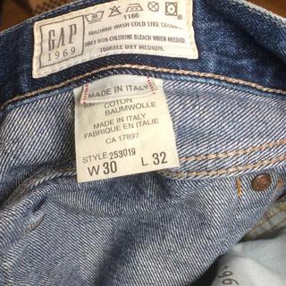 ギャップ(GAP)のGAP made in ITALY(デニム/ジーンズ)