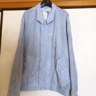 シマムラ(しまむら)のしまむら ジャケット メンズ LL 麻混合 ¥3900商品 父の日に☆(その他)