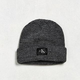 カルバンクライン(Calvin Klein)のCalvin Klein LOGO KNIT CAP GRAY カルバンクライン(ニット帽/ビーニー)