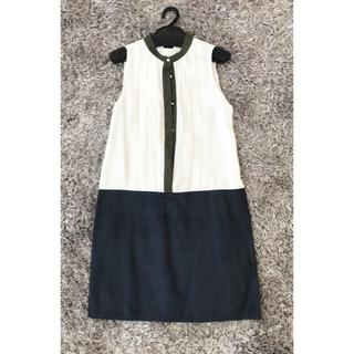 ディセイブ(DECEIVE)の★新品★シャツ×スエードワンピース(ひざ丈ワンピース)