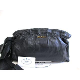b7c94d4e12fd PRADA - 美品 プラダ ナッパレザークラッチバッグの通販 by kazu's shop プラダならラクマ