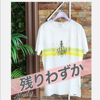 レディー(Rady)のRady かすれシャンデリア メンズTシャツ(Tシャツ/カットソー(半袖/袖なし))