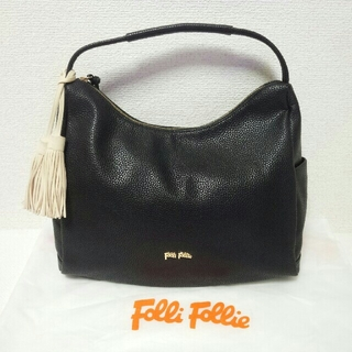 8c057b90d492 Folli Follie - Folli Folli フォリフォリ ハンドバッグ タッセル ブラックの通販 by 大ちゃん's shop| フォリフォリならラクマ:bfrtDS48 --- spbgk.ru