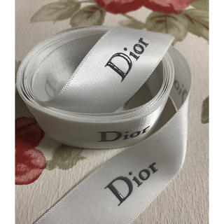 ディオール(Dior)のディオール りぼん リボン 美品 正規品(ラッピング/包装)