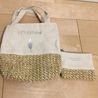 ロクシタン(L'OCCITANE)のロクシタンのミニバッグとポーチ(ハンドバッグ)