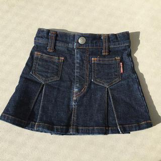 パーティチケット(PARTY TICKET)のデニム スカート 90(スカート)
