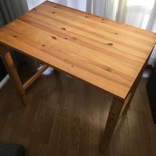 ムジルシリョウヒン(MUJI (無印良品))の【無印】折りたたみ式机(折たたみテーブル)