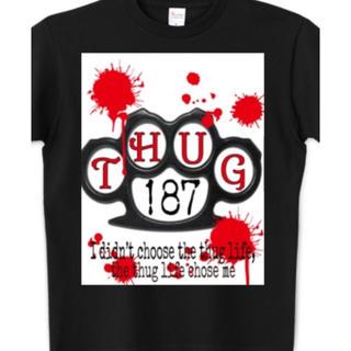 アフターベース(AFTERBASE)のTHUG 187 オリジナルTシャツ(Tシャツ/カットソー(半袖/袖なし))