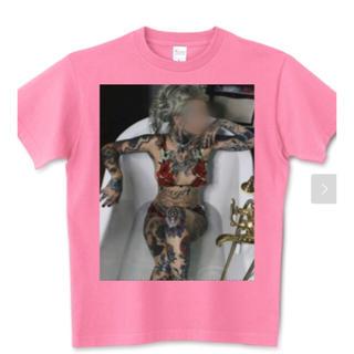アフターベース(AFTERBASE)のtattoo girl  オリジナルTシャツ(Tシャツ/カットソー(半袖/袖なし))
