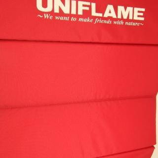 ユニフレーム(UNIFLAME)のユニフレーム ざぶとん レッド(その他)