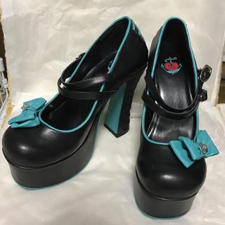 ティーユーケーシューズ(T.U.K. SHOES)のt.u.k 厚底靴(ハイヒール/パンプス)