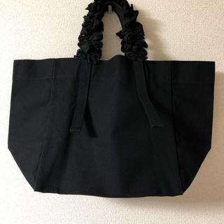 ラドロー(LUDLOW)の美品 ラドロー    オールブラック グレープハンドル バッグ(トートバッグ)