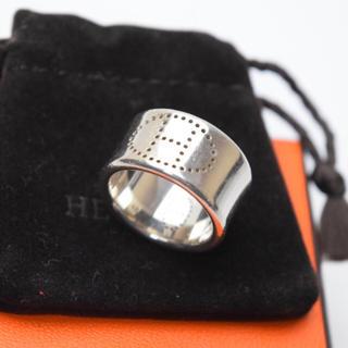 エルメス(Hermes)の【専用】送料無料/エルメス/エブリンリング/指輪/シルバー925/48サイズ(リング(指輪))