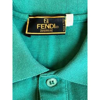 フェンディ(FENDI)の大幅値下げ!!!FENDI グリーンポロシャツ(^^♪(ポロシャツ)