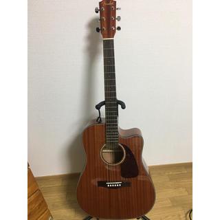 フェンダー(Fender)の美品送料無料 Fender CD-60CE All Mahogany エレアコ(アコースティックギター)