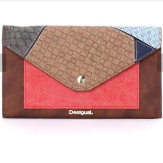 デシグアル(DESIGUAL)の新品 デシグアル レディース 長い財布 ウォレット 大幅値下げ‼️(財布)