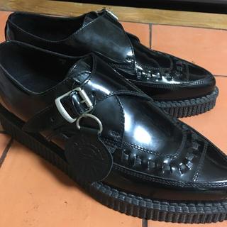 アンダーグラウンド(UNDERGROUND)のUNDERGROUND ラバーソールシューズ  UK 5 Size 5(ローファー/革靴)