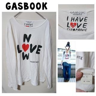 ガスブック(GAS BOOK)の古着★ロンT ガスブック  GAS BOOK (Tシャツ/カットソー(七分/長袖))