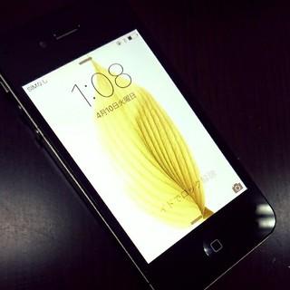 お時間限定◇iphone4s 16gb softbank black 動作品(スマートフォン本体)