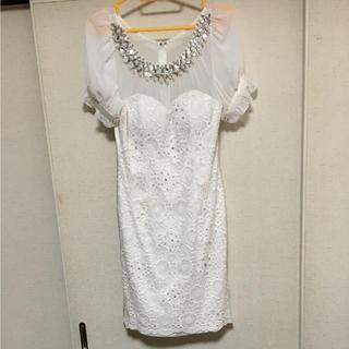 アンディ(Andy)のAndy キャバドレス ホワイトM(ナイトドレス)