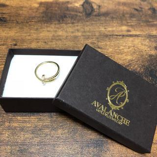 アヴァランチ(AVALANCHE)の☆8008様専用☆ AVALANCHE アヴァランチ 10Kゴールドリング(リング(指輪))