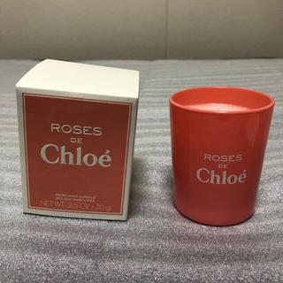 クロエ(Chloe)のローズ ド クロエ パフューム キャンドル【非売品】(キャンドル)