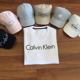 カルバンクライン(Calvin Klein)のカルバン  クライン トレーナーと選べる帽子(スウェット)