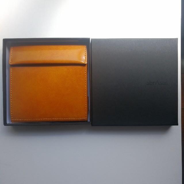 e383b78580a3 Abrasus 薄い財布 classic イエロー メンズのファッション小物(折り財布)の商品写真
