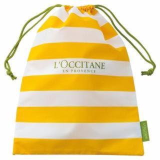 ロクシタン(L'OCCITANE)のロクシタン 巾着 ※参観スリッパ入れにも(スリッパ/ルームシューズ)