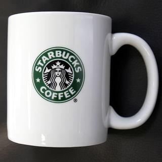スターバックスコーヒー(Starbucks Coffee)のスターバックス★旧ロゴ マグカップ トールサイズ 10FL OZ 296ml(食器)