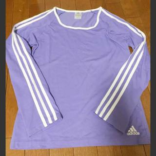 アディダス(adidas)のadidas 3本ライン入りロンT(Tシャツ(長袖/七分))