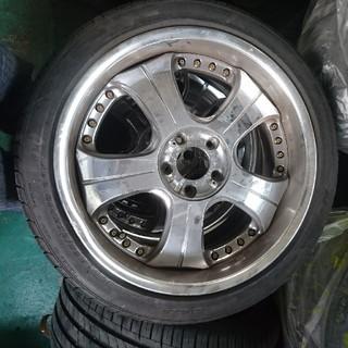 スーパースター(SUPERSTAR)のホイール+タイヤ(タイヤ・ホイールセット)