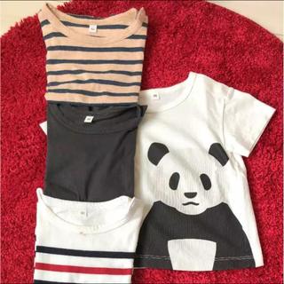 ムジルシリョウヒン(MUJI (無印良品))の無印良品 半袖Tシャツ 80 まとめ売り(Tシャツ)