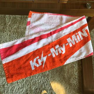キスマイフットツー(Kis-My-Ft2)のKis-My-Ft2 Kis-My-MINT Tour タオル(タオル)