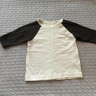 ムジルシリョウヒン(MUJI (無印良品))の無印良品 ラグラン Tシャツ80cm(Tシャツ)
