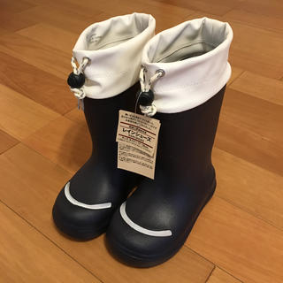 ムジルシリョウヒン(MUJI (無印良品))の無印良品 レインシューズ 17〜18cm(長靴/レインシューズ)