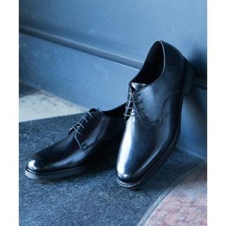 ステュディオス(STUDIOUS)のSTUDIOUS プレーントゥシューズ ブラック ¥12960(ドレス/ビジネス)