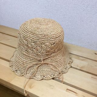 ムジルシリョウヒン(MUJI (無印良品))のmaaa...さま専用 MUJI 麦わら帽子kids(帽子)