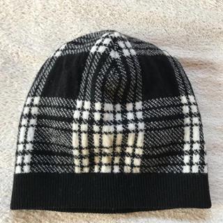 モンクレール(MONCLER)のモンクレール ガムブルー ニット帽 カシミア100% フリーサイズ(ニット帽/ビーニー)