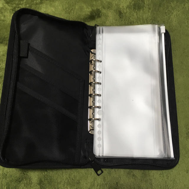 無印パスポートケース リフィルの代用可! インテリア/住まい/日用品の日用品/生活雑貨/旅行(旅行用品)の商品写真